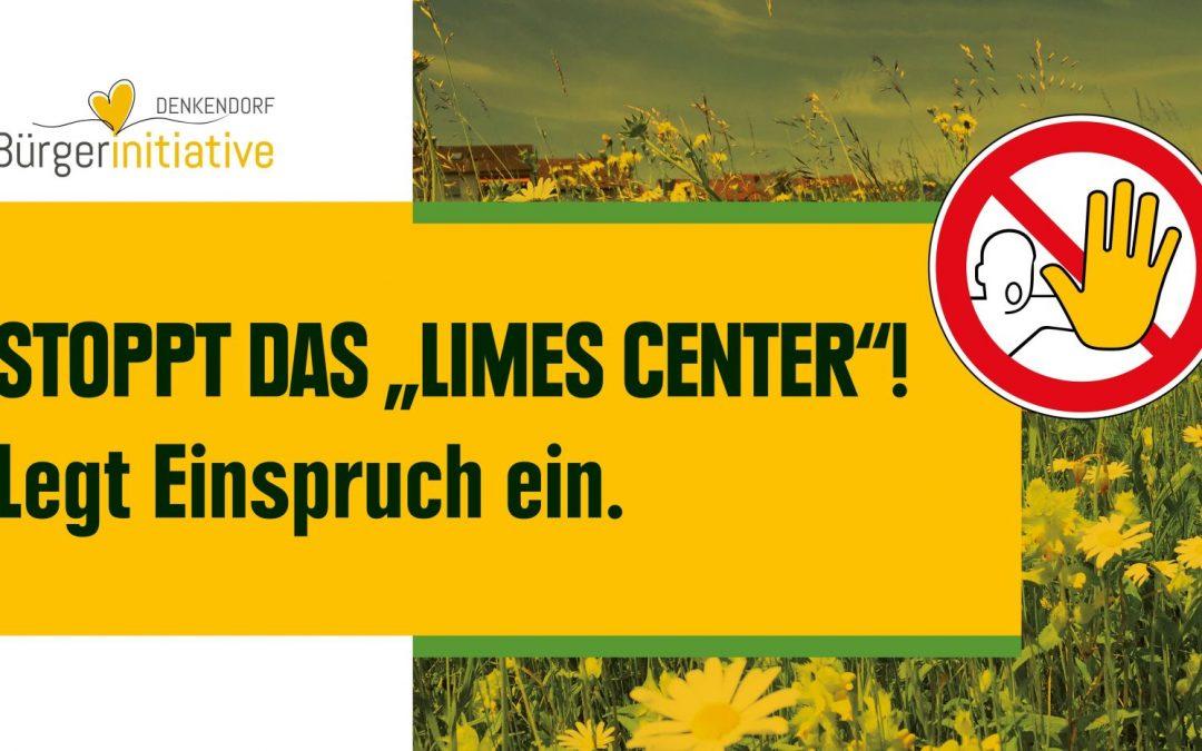 25.02. | Limes-Center – Bebauungsplan – Beteiligungsverfahren